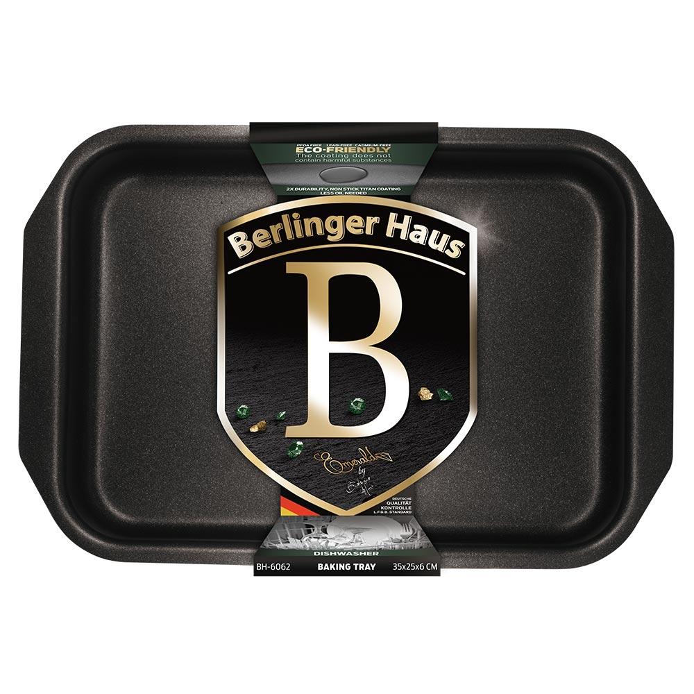 Αντικολλητικό ταψί 35*25εκ. με επίστρωση τιτανίου Berlinger Haus BH-6062