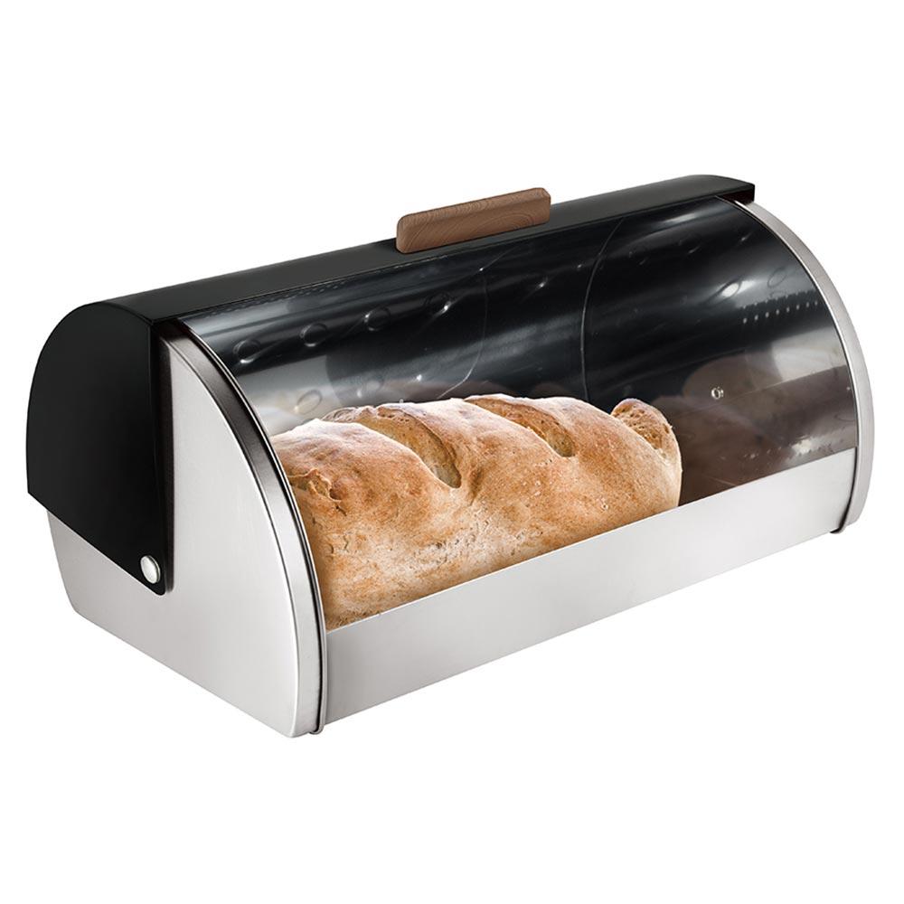 Berlinger Haus Ψωμιέρα από ανοξείδωτο ατσάλι Ebony Rosewood Collection BH-6455