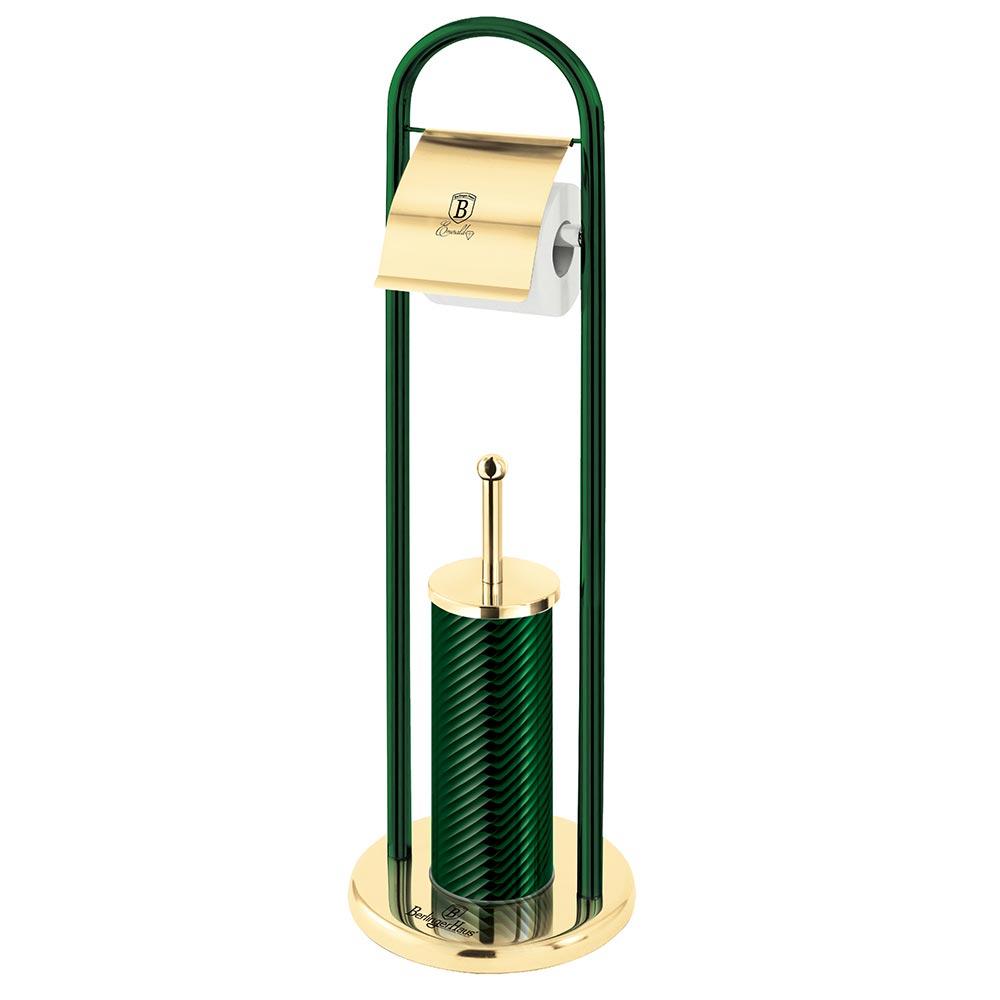 Berlinger Haus Πιγκάλ και βάση χαρτιού υγείας Emerald Collection BH-6553