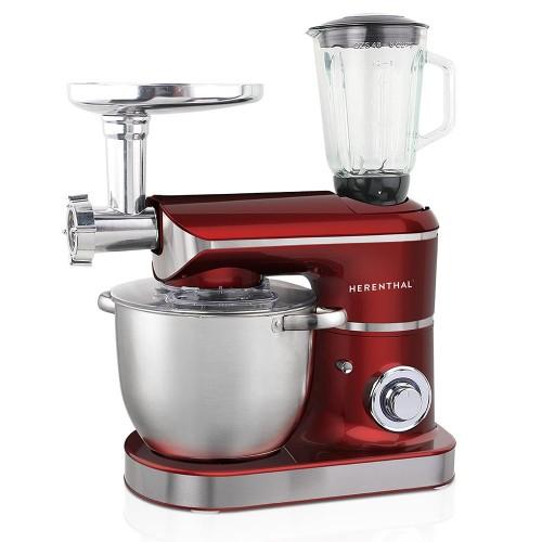 Herenthal Επιτραπέζιο Μίξερ - Κουζινομηχανή 2200W Max Κόκκινο HT-PKM2200.472BG-RED