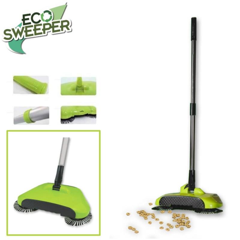 HomeVero ECO Sweeper Χειροκίνητη σκούπα 3 σε 1 για όλες τις επιφάνειες