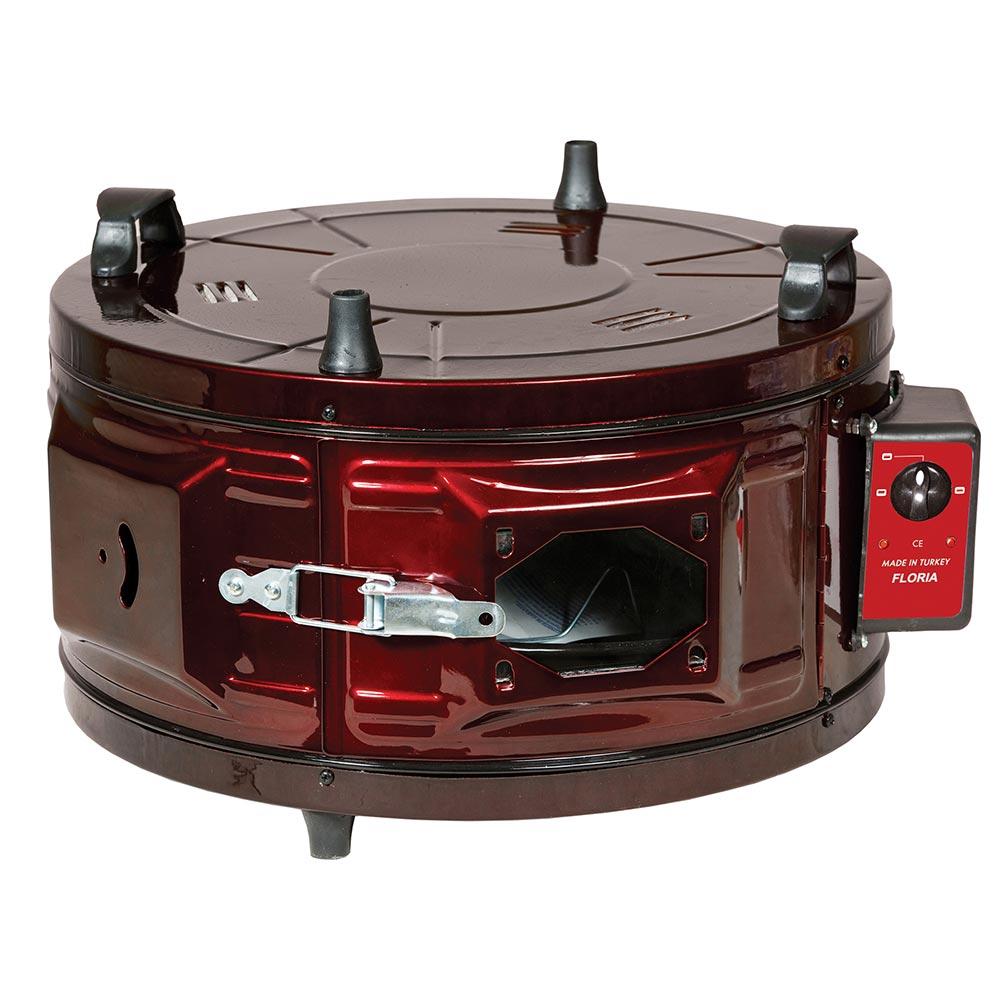 Zilan Ηλεκτρικός Στρόγγυλος Φούρνος 30L 1300W ZLN9553