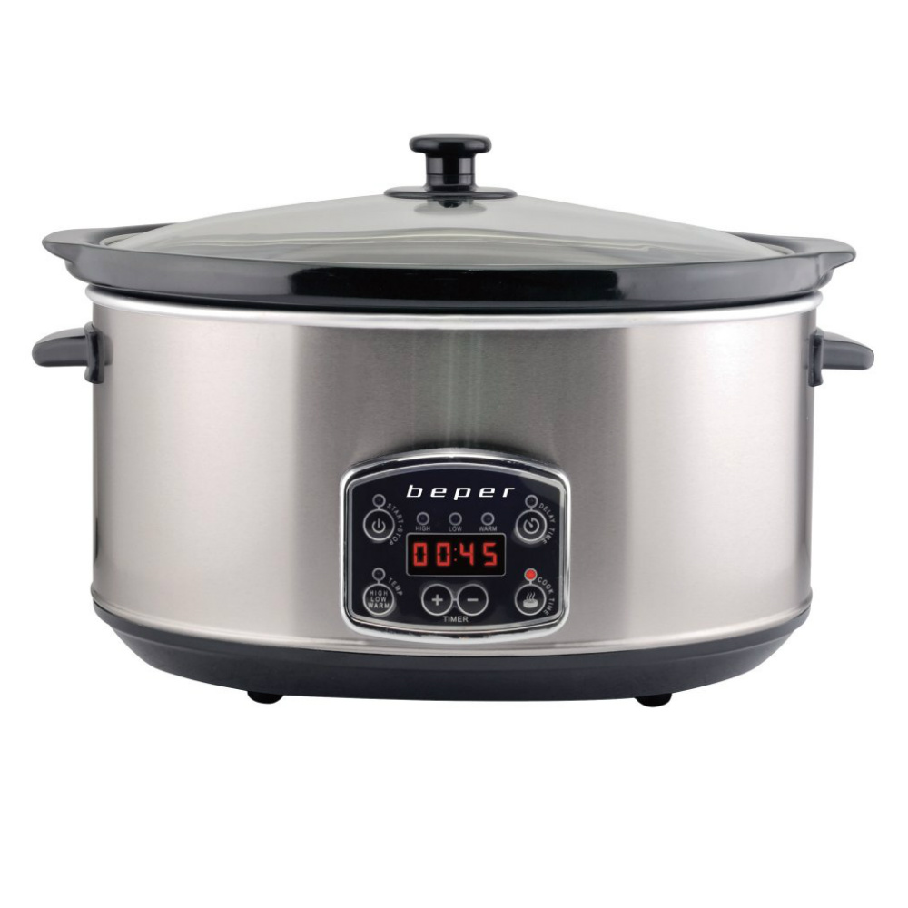 Beper BC.510 Slow Cooker – Ηλεκτρονική Γάστρα 4.5L