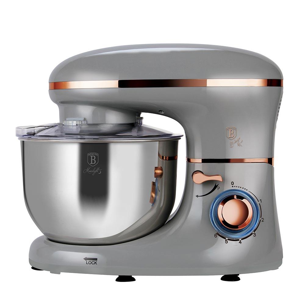 Berlinger Haus Κουζινομηχανή - Μίξερ Ασημί 1300W BH-9192