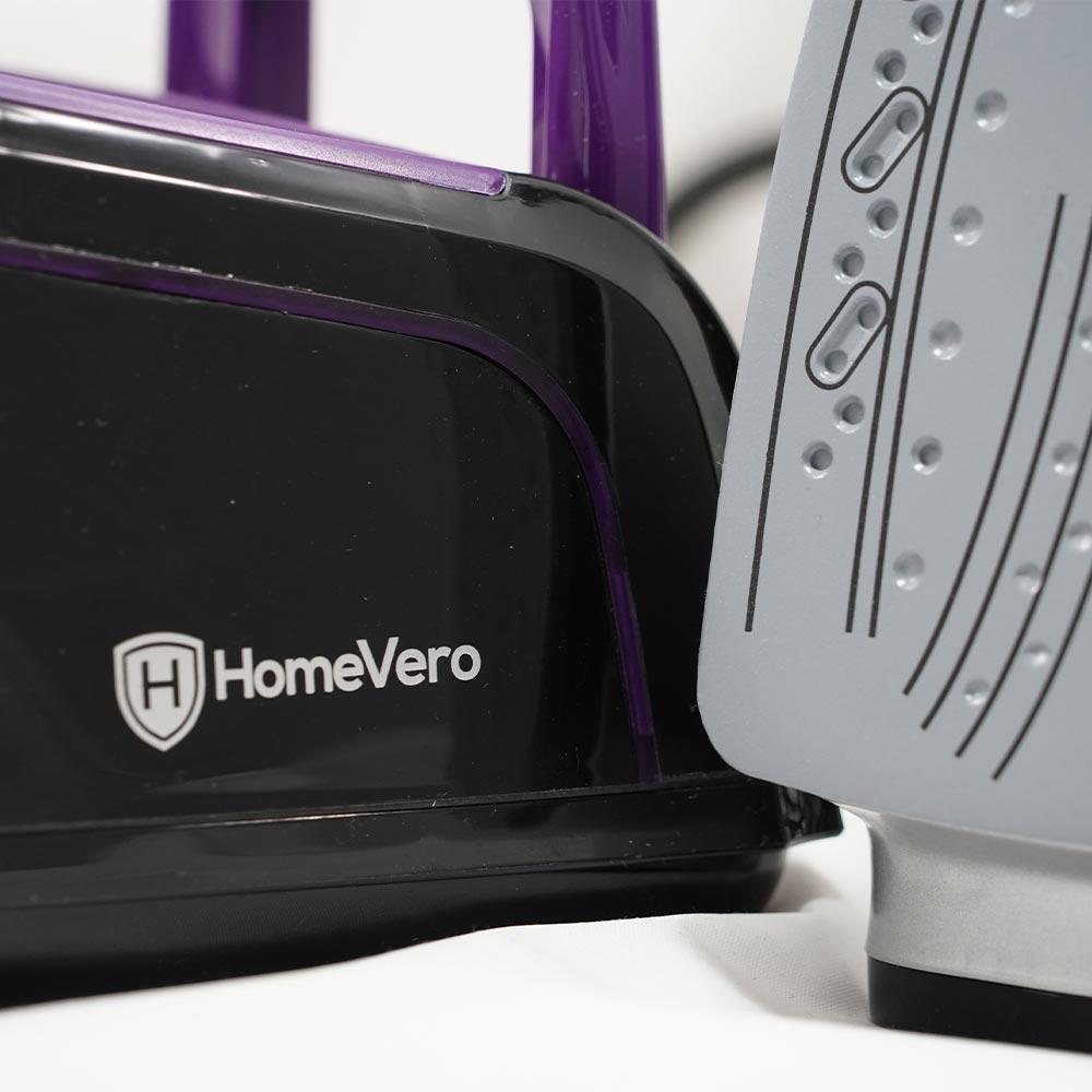Homevero Σύστημα σιδερώματος ατμού 2400W σε μωβ χρώμα HV-21981P