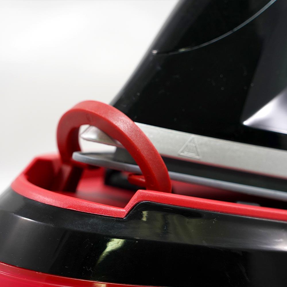 Homevero Σύστημα σιδερώματος ατμού 2400W σε κόκκινο χρώμα HV-21981R