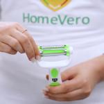 HomeVero Αποφλοιωτής με 3 λεπίδες Click n Peel HV-PL.10
