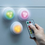 Handy lux Color Click Σετ φωτάκια LED με εναλλασσόμενα χρώματα 5 τμχ με τηλεχειριστήριο
