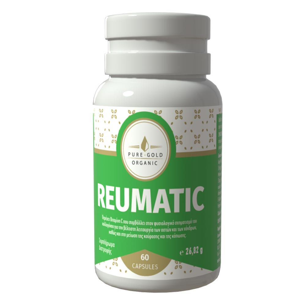 Reumatic Συμπλήρωμα διατροφής για την ενδυνάμωση των οστών και των αρθρώσεων 60 κάψουλες