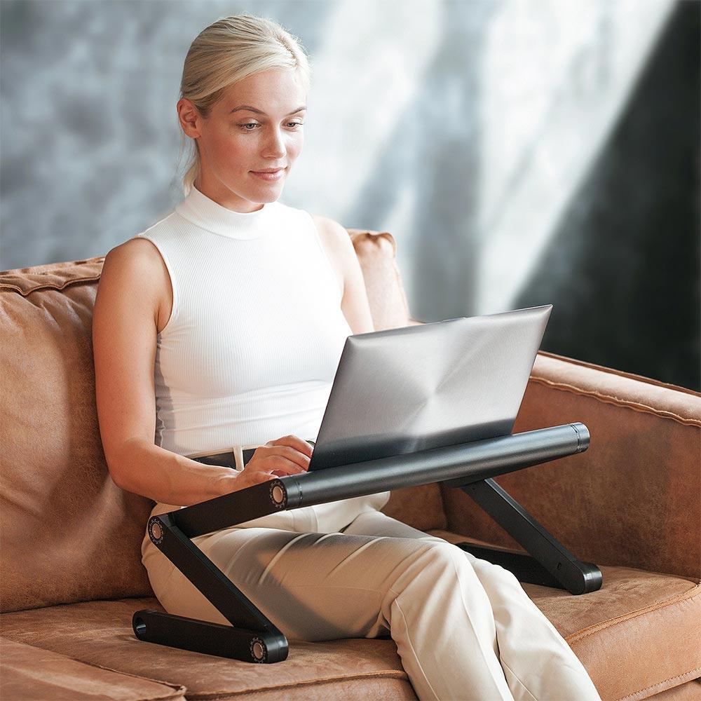 WonderWorker Πτυσσόμενη βάση στήριξης laptop 55 x 28.5 x 4/55 cm T80418