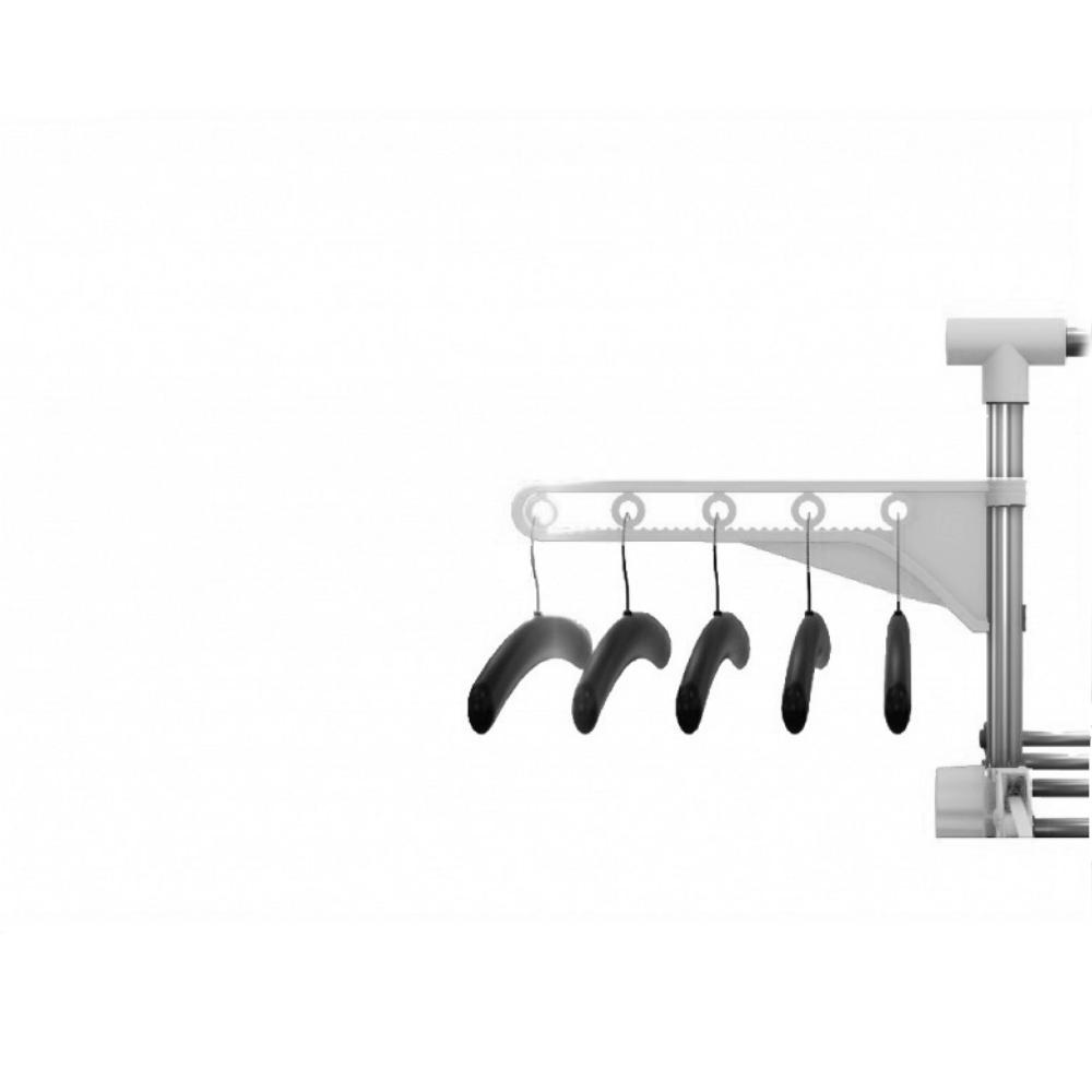 HG-5015-WH Απλώστρα Αναδιπλούμενη & Πολυλειτουργική Herzberg