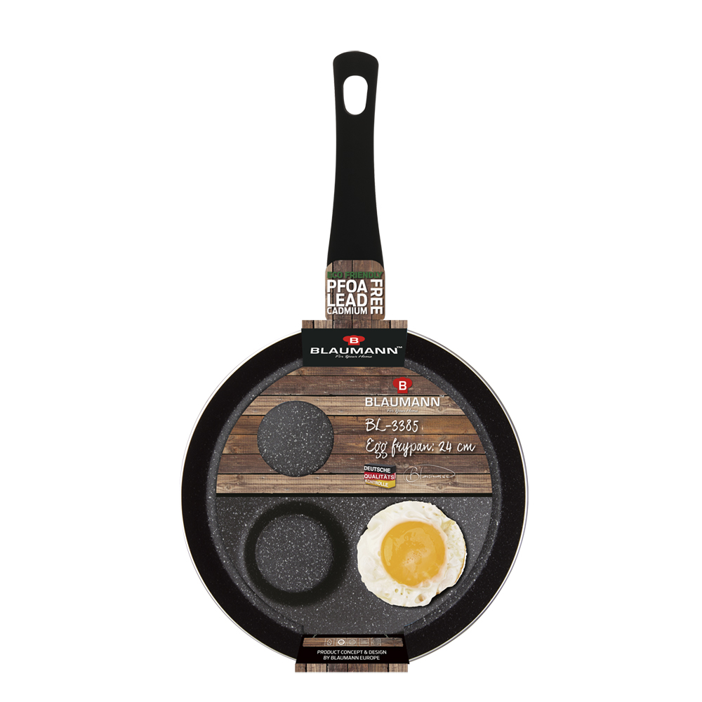 Blaumann Αντικολλητικό τηγάνι αυγών Ø24cm BL-3385