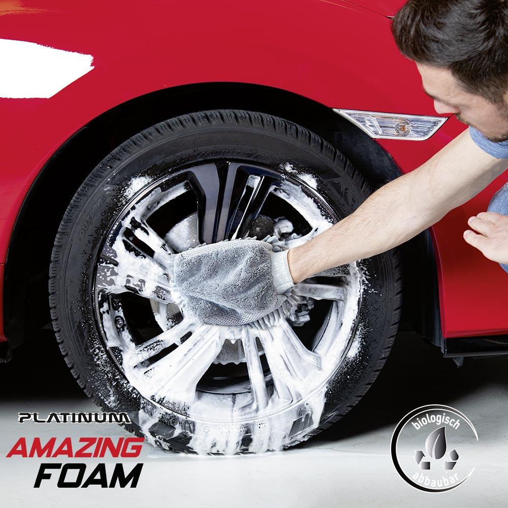 Platinum Amazing Foam Σύστημα Καθαρισμού Αυτοκινήτου με Ενεργό Αφρό