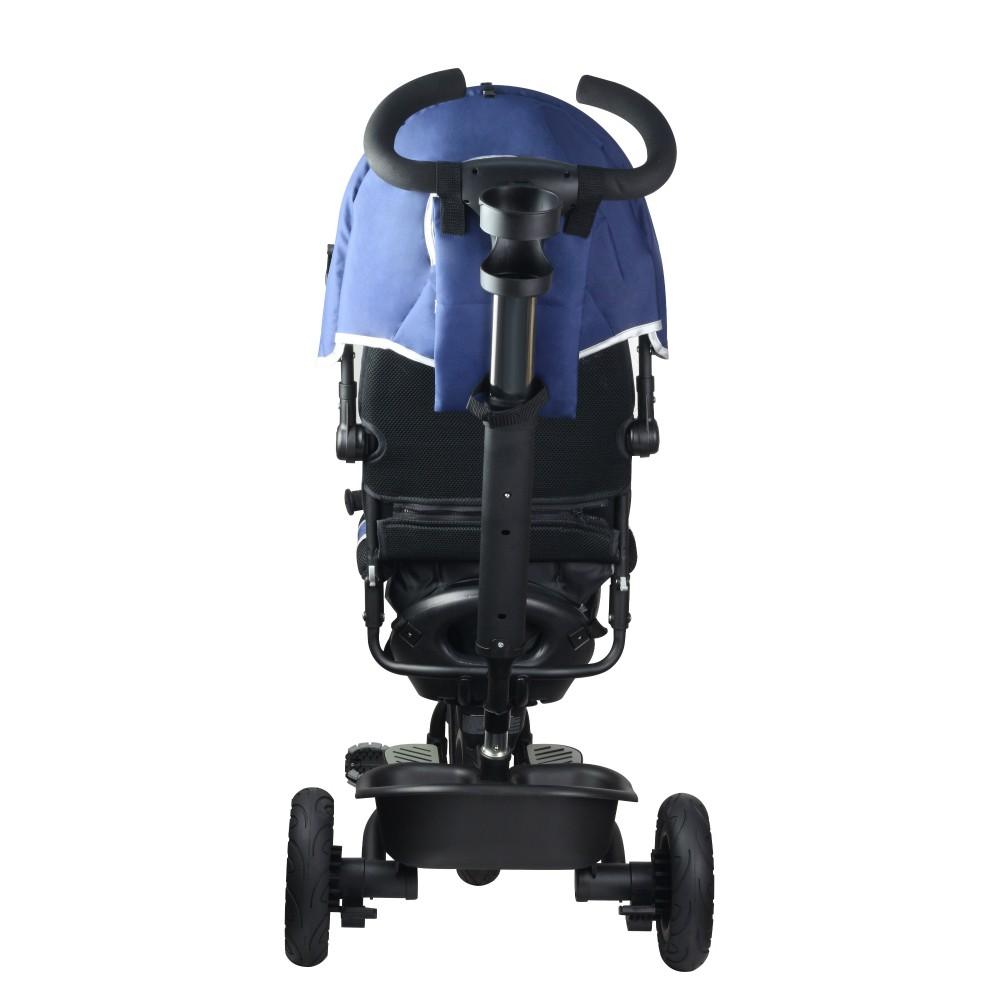 Παιδικό καροτσάκι-ποδηλατάκι Μπλε Kinderline TRC-711.1-BLUE