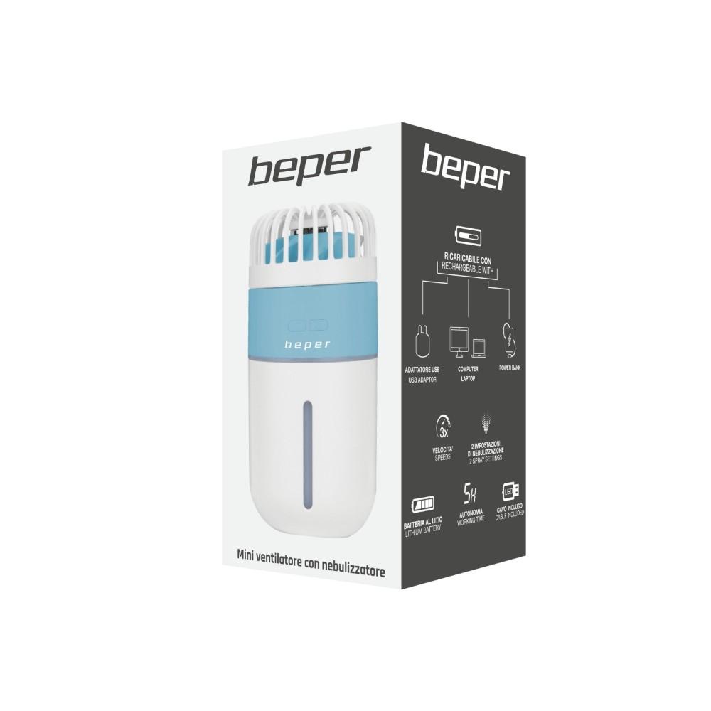 Beper Μίνι Επαναφορτιζόμενος Ανεμιστήρας Χειρός USB P206VEN410