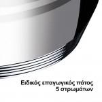 Homevero Σετ Μαγειρικά Σκεύη 10τμχ Ανοξείδωτο Ατσάλι HV-1110