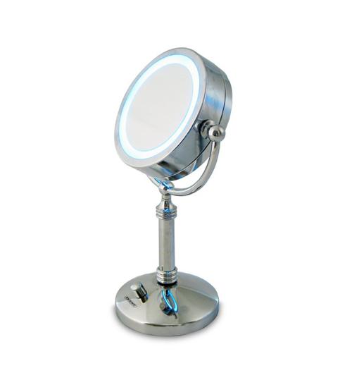 BEPER 40.941/A Φωτιζόμενος Καθρέφτης Μεταλλικό STAND 5 Watt