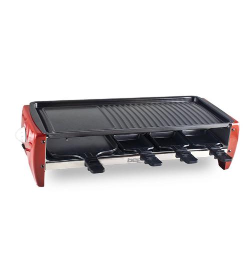 BEPER 90.660 Ψηστιέρα Raclette με αντικολλητική επίστρωση 1800W