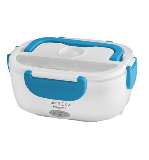 Beper 90.920A Θερμαινόμενο Δοχείο Φαγητού 650ml/450ml 40W - Μπλε