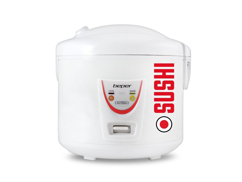 Συσκευή παρασκευής ρυζιού & Ατμομάγειρας 2 σε 1