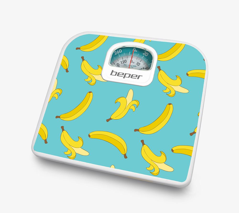 Beper 40.812F1 Ζυγαριά Μπάνιου Αναλογική Μπανάνες