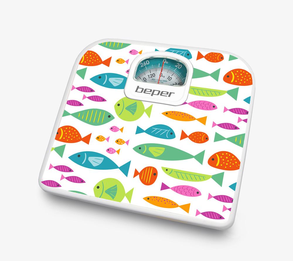 BEPER 40.812F2 Ζυγαριά Μπάνιου Αναλογική Ψάρια