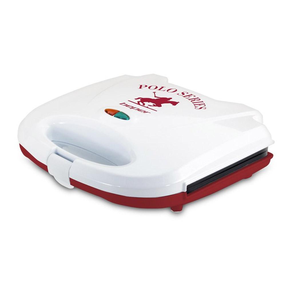 Beper 90.640H Polo Series Τοστιέρα 700W Κόκκινη