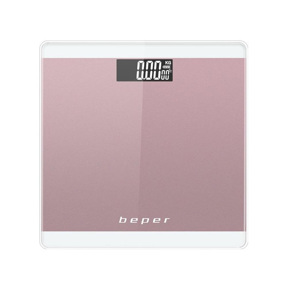 Beper 40.822P Ζυγαριά Μπάνιου Ροζ