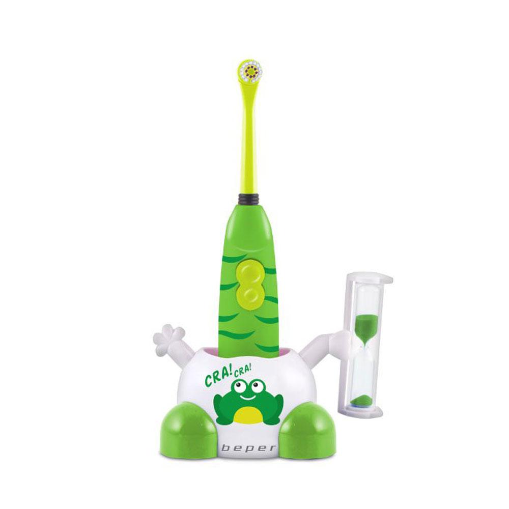 Beper 40.917V Παιδική Ηλεκτρική Οδοντόβουρτσα Πράσινη