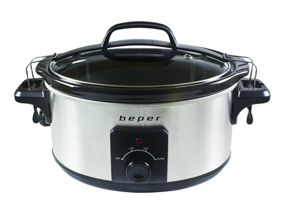 Beper BC.500 Slow Cooker – Ηλεκτρονική Γάστρα 5.5L