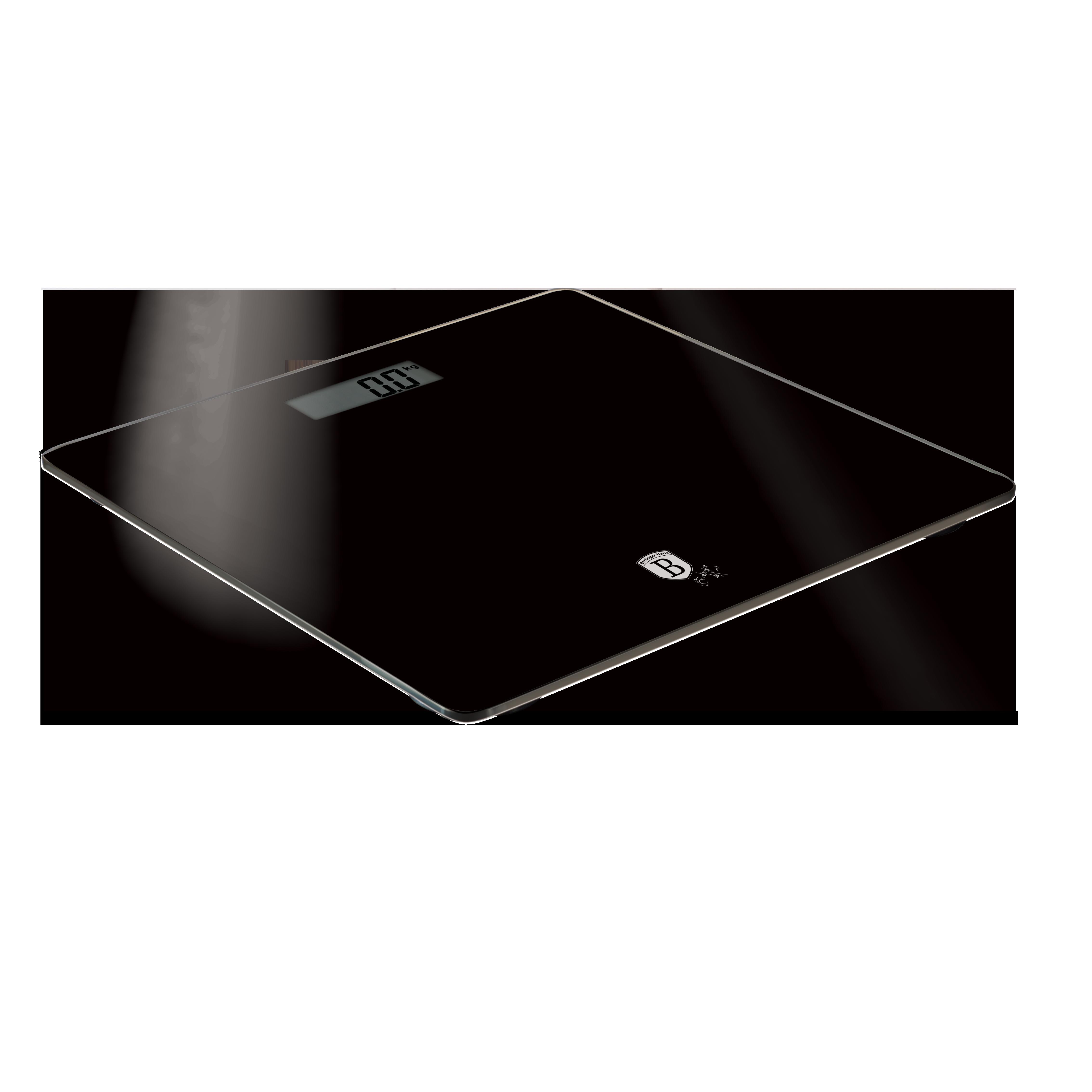 Ψηφιακή Ζυγαριά Μπάνιου Μαύρη Max 180Kg