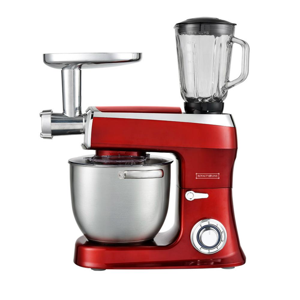 Κουζινομηχανή 2100W Royalty Line Κόκκινη RL-PKM2100BG-RED