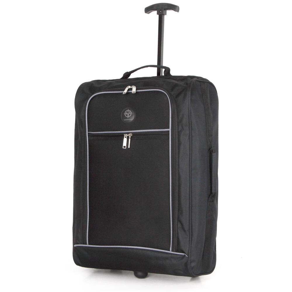 CB01.A-BKGY Βαλίτσα Καμπίνας Τρόλεϊ 38Lt Μαύρο-Γκρι Sunrise Bags 38 λίτρα