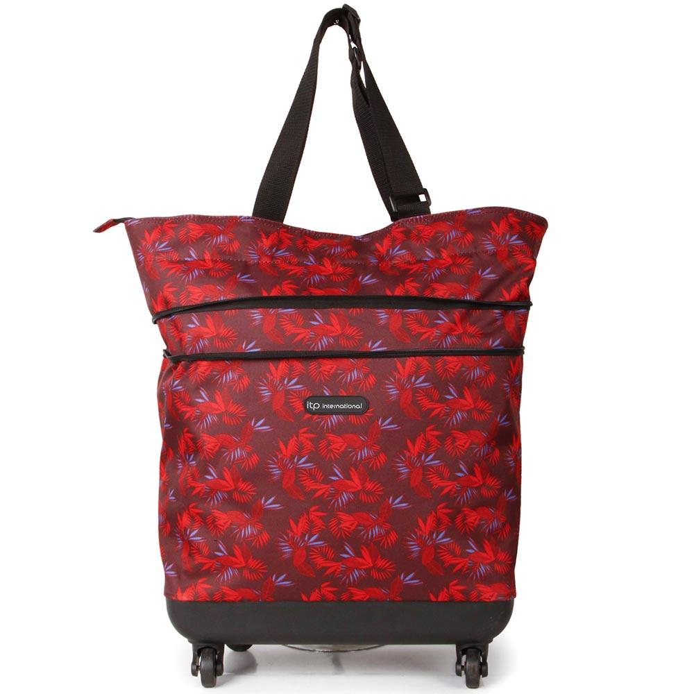 SUNRISE BAGS Εύκαμπτη τροχήλατη τσάντα καμπίνας star gazer 44Lt EX008.A-STGA
