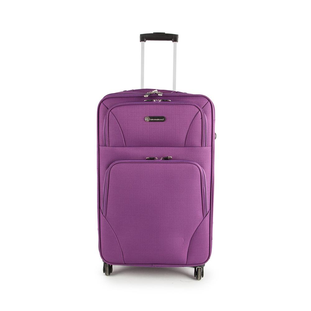 SUNRISE BAGS Βαλίτσα trolley μωβ 52Lt 2125N-27-PU