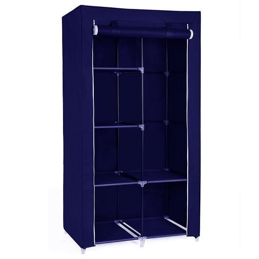 Φορητή υφασμάτινη ντουλάπα Herzberg HG-8010-BL Μπλε