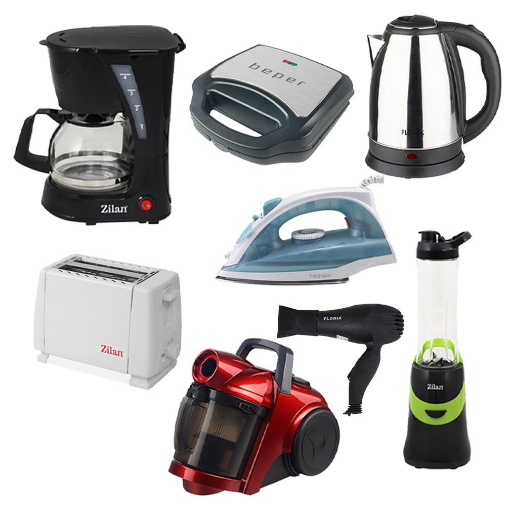 Φοιτητικό Πακέτο – Ηλεκτρικές Συσκευές Κουζίνας και Συσκευές Καθαριότητας BUN-003