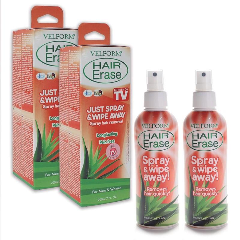 Velform Hair Erase Καλλυντικό Σπρέι Αποτρίχωσης