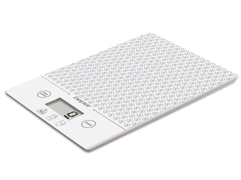BEPER 90.123B Ζυγαριά Κουζίνας Ηλεκτρονική 5kg 22.5Χ7.2Χ2.7