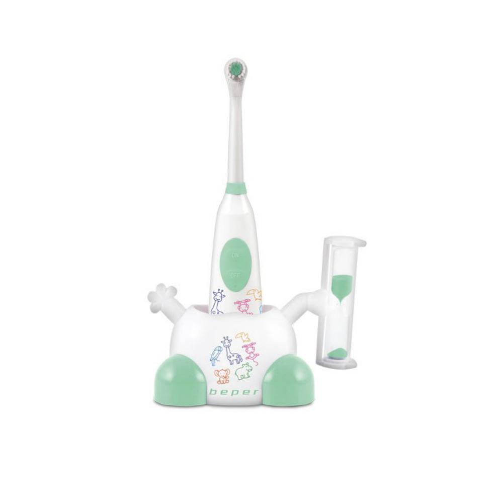 Beper 40.918 Παιδική ηλεκτρική οδοντόβουρτσα πράσινη