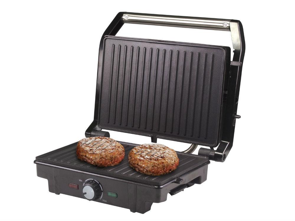 Τοστιέρα - Grill με αντικολλητικές πλάκες 1600W Beper BT.370