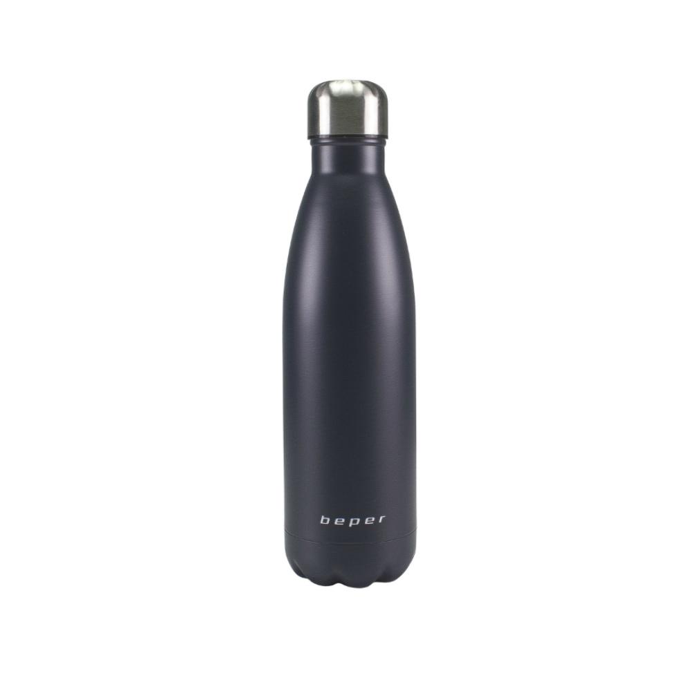 Beper BI.507 Ισοθερμικό Παγούρι - Θερμός από Ανοξείδωτο Ατσάλι Μαύρο