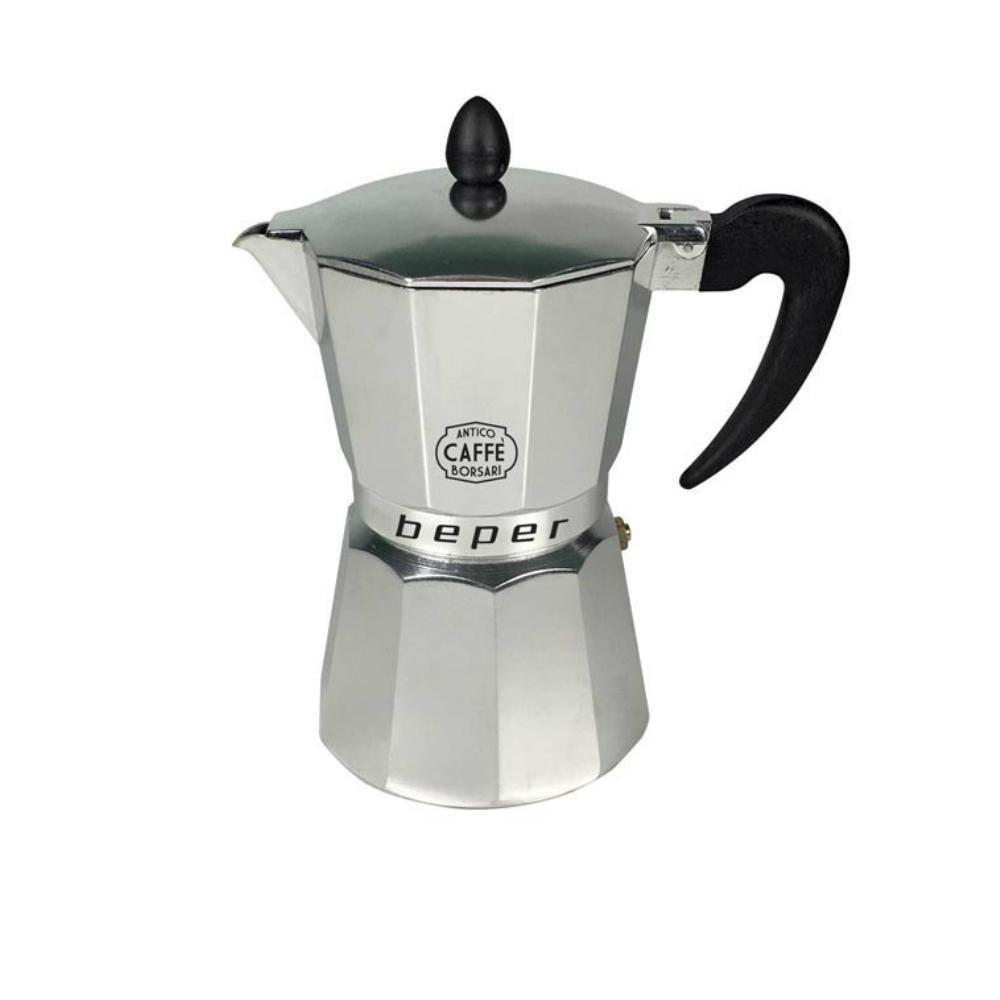 Beper CA.013 Καφετιέρα espresso 6 φλιτζανιών κατάλληλη και για επαγωγικές εστίες