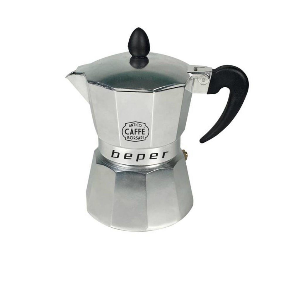 Beper CA.014 Καφετιέρα espresso 3 φλιτζανιών κατάλληλη και για επαγωγικές εστίες