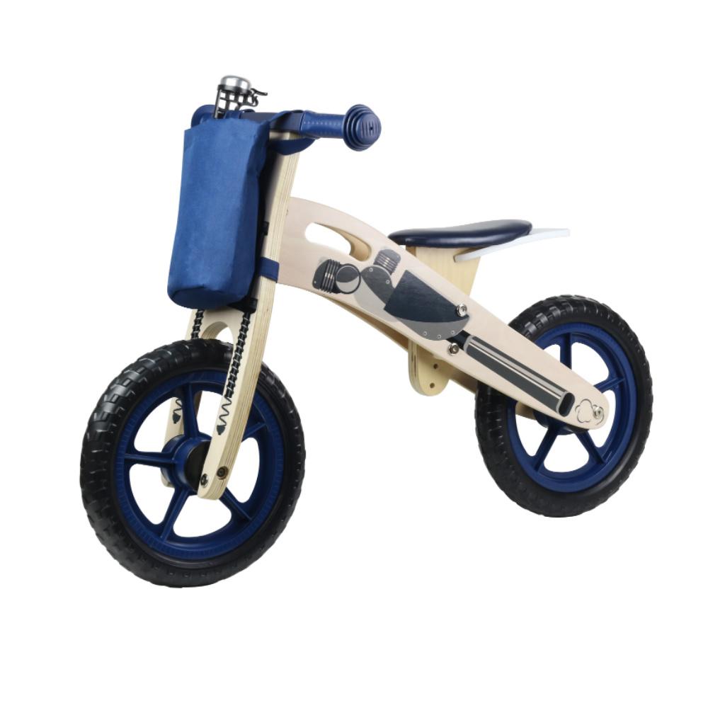 Παιδικό Ποδηλατάκι Ισορροπίας Σκούρο Μπλε Kinderline WBC-726.1 BLUE