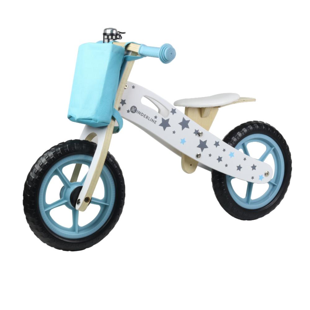 Παιδικό Ποδηλατάκι Ισορροπίας Ανοιχτό Μπλε Kinderline WBC-726.1 LIGHT BLUE