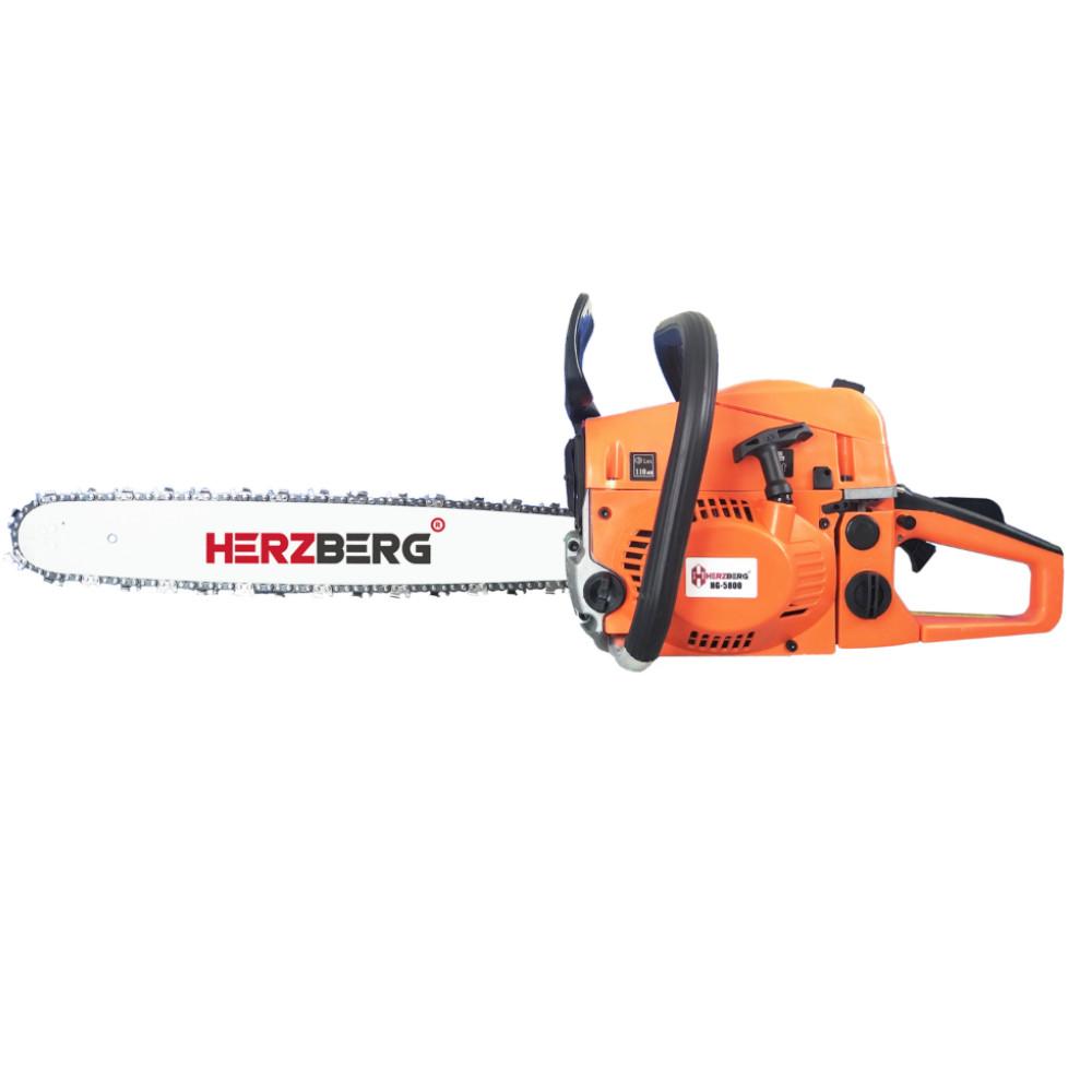 Herzberg HG-5800 - Αλυσοπρίονο Βενζίνης