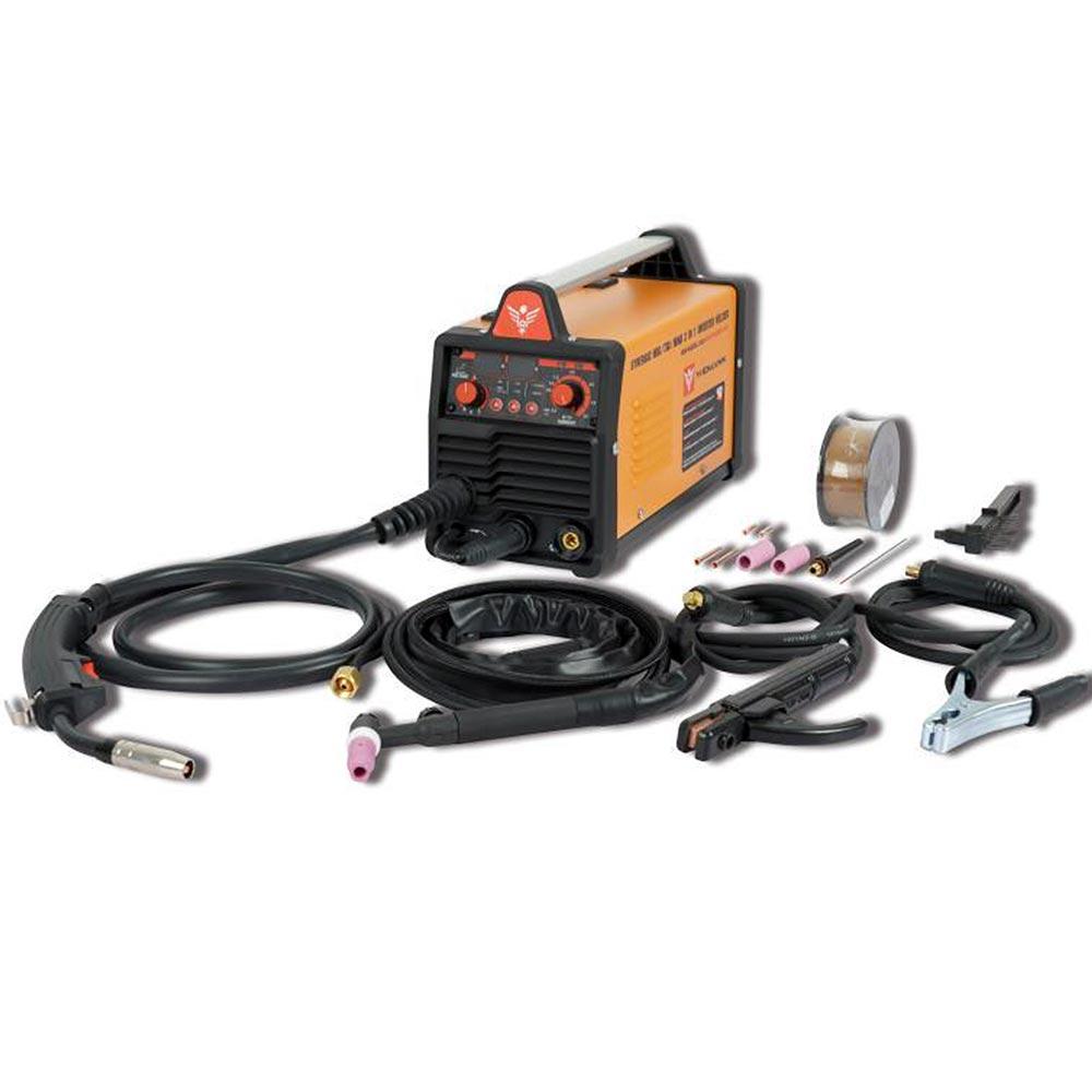 Widmann Συσκευή Ηλεκτροσυγκόλλησης Inverter 3 σε 1 MIG/TIG/MMA-160