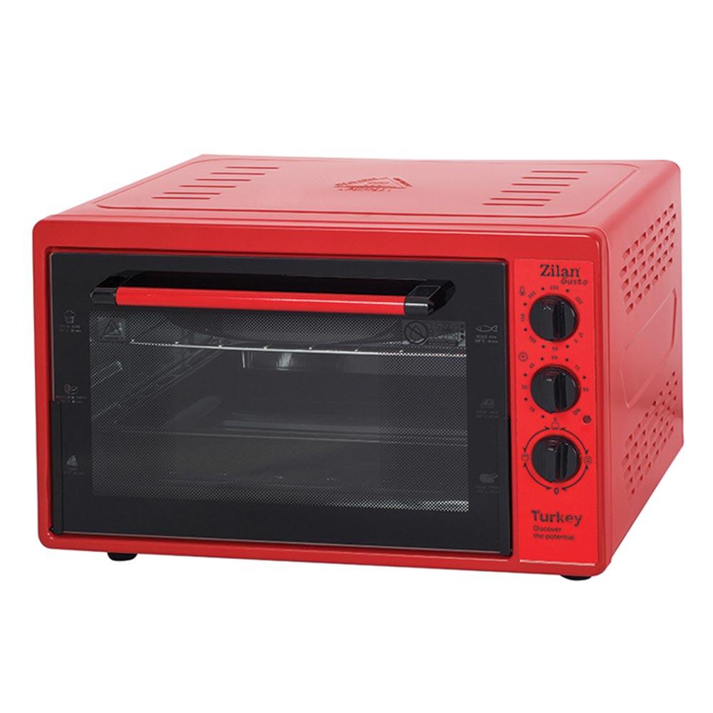 Zilan Ηλεκτρικός Φούρνος Κόκκινος 32L 1300W ZLN5320-RED